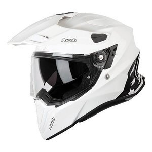 Kask integralny Airoh COMMANDER COLOR WHITE GLOSS biały czarny