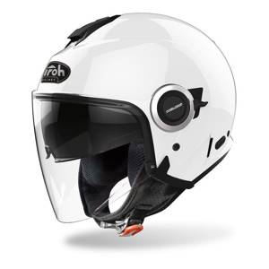 Kask otwarty Airoh HELIOS COLOR WHITE GLOSS biały